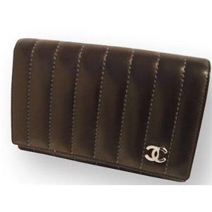 CHANEL(シャネル) A30044 D.BR 財布 マドモアゼル 2つ折り 中 財布
