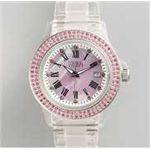 HEB milano(へブ ミラノ) 腕時計 28000ALLS00003 j basic swarovski pink