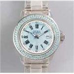 HEB milano(へブ ミラノ) 腕時計 28000ALLS00004 j basic swarovski blue