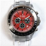 HEB milano(へブ ミラノ) 腕時計 18000ALLS00095 j speed chrono red/black