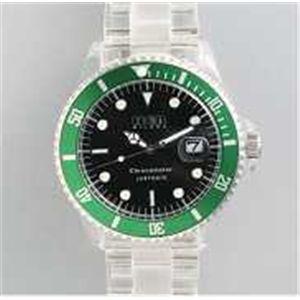 HEB milano(へブ ミラノ) 腕時計 18000ALLS00012 j basic big i9359 black/green