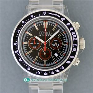 HEB milano(へブ ミラノ) 腕時計 18000ALLS00091 j speed chrono black/black