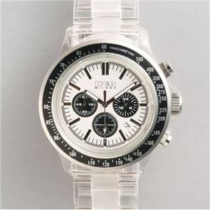 HEB milano(へブ ミラノ) 腕時計 18000ALLS00094 j speed chrono white/black