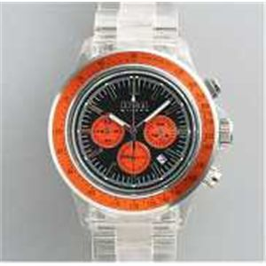 HEB milano(へブ ミラノ) 腕時計 18000ALLS00093 j speed chrono black/orange