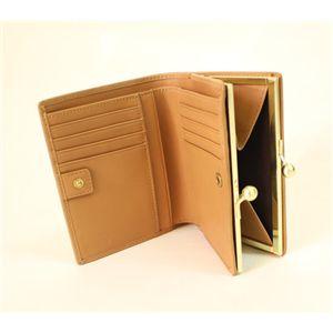 COACH(コーチ)ハンプトンズシグネチャー 6K11 BKHCA フレームド フレンチパース 二つ折財布 カーキ/キャメル