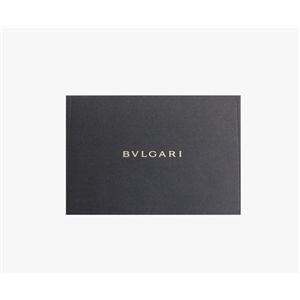 02ブルガリ/BVLGARI 25252 ドッピオトンド Wホック 二つ折り財布/ダークブラウン