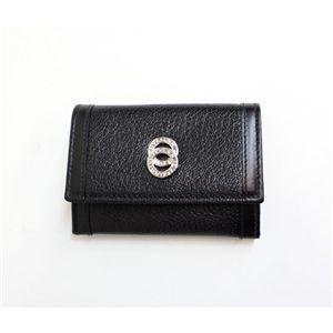 BVLGARI ブルガリ 26276 DOPPIOTONDO ドッピオトンド コインケース 小銭入れ ブラック