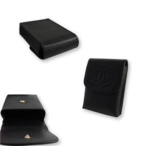 CHANEL(シャネル) A13511BK キャビアスキン シガレットケース ブラック