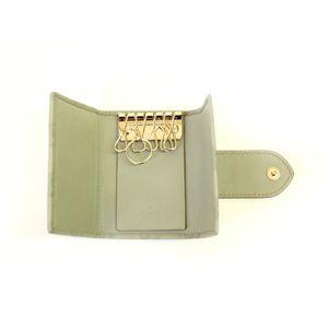 GUCCI(グッチ) 203551 AA61G 1815 6連 キーケース グッチシマ ライトグリーン