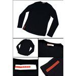 PRADA SPORTS (プラダスポーツ) ロングTシャツ SJM372 INTERLOCK FITNE
