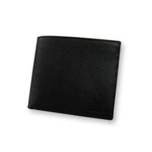 PRADA (プラダ) 二つ折り財布 2M0738 SAF NERO