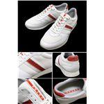 PRADA SPORTS (プラダスポーツ) スニーカー 4E1537 WHITE FLYING サイズ9