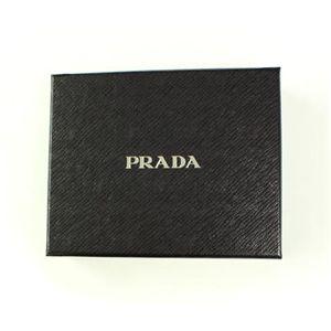 02プラダ/PRADA 三つ折り財布/1M0170 TESSUTO/NERO