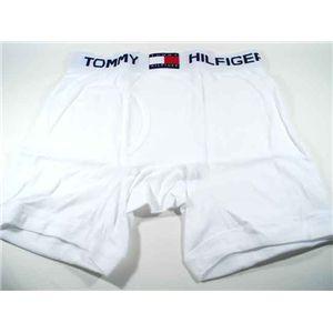 トミーヒルフィガーTOMMY HILFIGER(トミーヒルフィガー) アンダーウェア ボクサーブリーフ U62512227 WH 100 サイズL