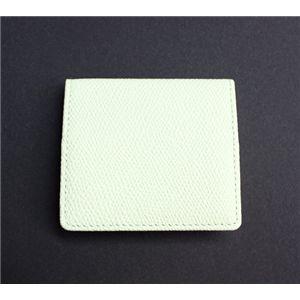 SONNE(ゾンネ)コインケース グレインレザー SOG025/WHT ホワイト
