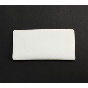 SONNE(ゾンネ)長財布(コインケース無し)グレインレザー SOG031/WHT ホワイト