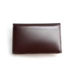 SONNE(ゾンネ)名刺入れ カードケース コードバン SOC008/CHO チョコレート