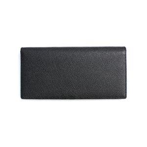SONNE(ゾンネ)長財布(コインケース無し)グレインレザー SOG031/BLK ブラック
