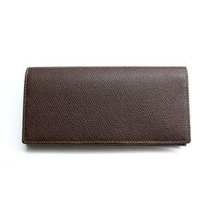 SONNE(ゾンネ)長財布 グレインレザー SOG021/CHO チョコレート