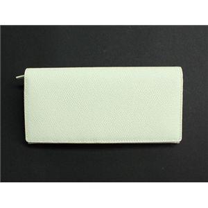SONNE(ゾンネ)長財布 グレインレザー SOG021/WHT ホワイト