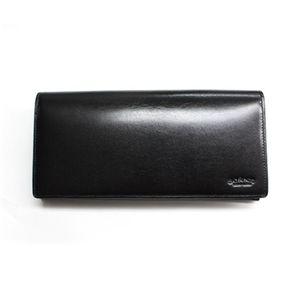 SONNE(ゾンネ)2つ折り長財布 レザー SOC011/LAETHER/BLK ブラック