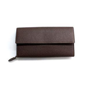 SONNE(ゾンネ)長財布 グレインレザー SOG032/CHO チョコレート
