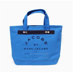 MARC BY MARC JACOBS(マークバイマークジェイコブス) トートバッグ MMJ 91065 ブルー 【レアカラー】
