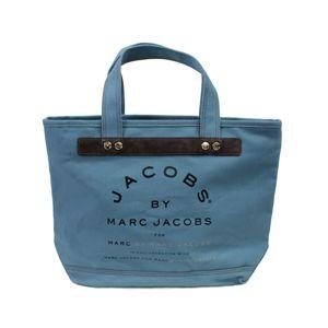 MARC BY MARC JACOBS(マークバイマークジェイコブス) トートバッグ MMJ 91067 グレー/ブルー 【レアカラー】