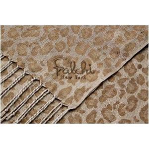 Falchi NewYork(ファルチ ニューヨーク) 2009AW新作 大判ストール2枚セット 010-004 ブラウン/グレー