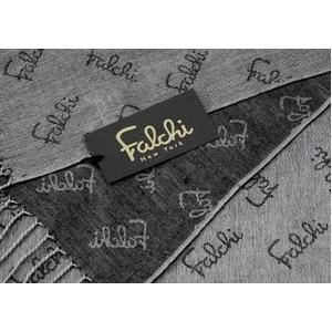 Falchi NewYork(ファルチ ニューヨーク) 2009AW新作 大判ストール2枚セット 010-006 ブラウン/グレー