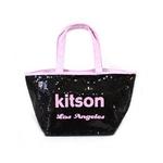 KITSON(キットソン) ミニスパンコール トートバッグ 3562 ブラック/ピンクの詳細ページへ