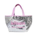 KITSON(キットソン) ミニスパンコール トートバッグ 3561 シルバー/ピンクの詳細ページへ