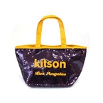 KITSON(キットソン) ミニスパンコール トートバッグ 3560 パープル/イエローの詳細ページへ