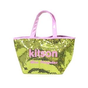 KITSON(キットソン) ミニスパンコール トートバッグ 3556 ゴールド/ピンク