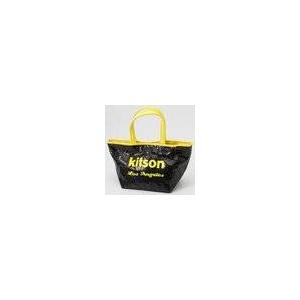 KITSON(キットソン) ミニスパンコール トートバッグ 3577 ネオン イエロー
