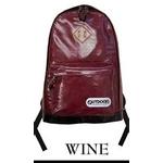 OUTDOOR(アウトドア) 12449357 ワイン 11 ネオシャイニング PU デイパック リュックサック