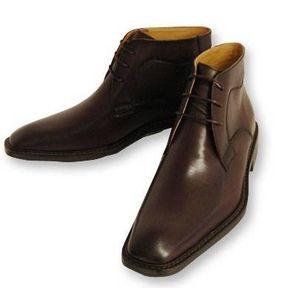 Falchi New York(ファルチ ニューヨーク) 紳士靴 ショートブーツ FN-009 ブラウン 25