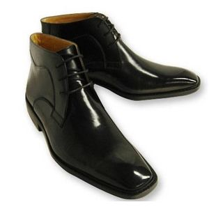 Falchi New York(ファルチ ニューヨーク) 紳士靴 ショートブーツ FN-009 ブラック 25.5