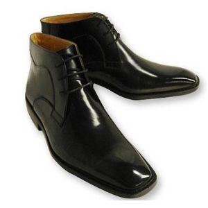 Falchi New York(ファルチ ニューヨーク) 紳士靴 ショートブーツ FN-009 ブラック 26