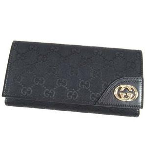 Gucci(グッチ) 181593 FCEKG 1000 ダブルホック 長財布