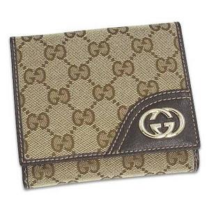 Gucci(グッチ) 181594 FCEKG 9643 2つ折り小銭入れ付き財布