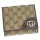 Gucci(グッチ) 181594 FCEKG 9643 2つ折り小銭入れ付き財布【GUCCIグッチ卸業者直送通販】