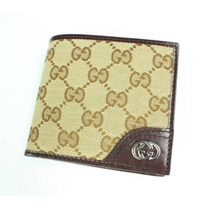 GUCCI(グッチ) 181671-FAFXN-9569 ベージュ 2つ折り財布