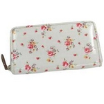 CATH KIDSTON(キャスキッドソン) Cath Kidston 229760 Zip Wallet w/leather pulley 長財布