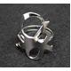 CHLOE(クロエ) 2R0056-AB1-090 CHLOEロゴモチーフリング  silver 48(7-8号)