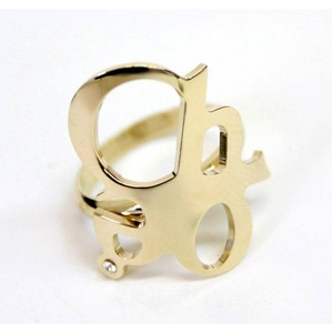 CHLOE(クロエ) 2R0056-AB1-097 CHLOEロゴモチーフリング gold 48(7-8号)