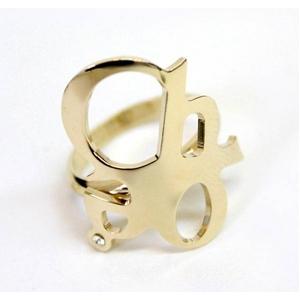 CHLOE(クロエ) 2R0056-AB1-097 CHLOEロゴモチーフリング gold 50(9-10号)