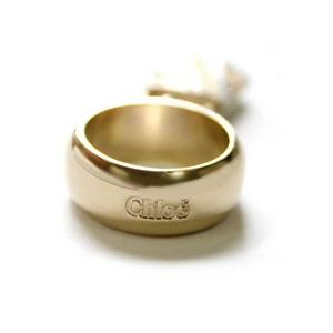 CHLOE(クロエ) 2R0143-AC3-102 パディントン リング アイボリー×ゴールド 48