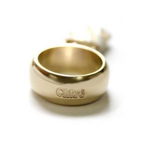 CHLOE(クロエ) 2R0143-AC3-102 パディントン リング アイボリー×ゴールド 52