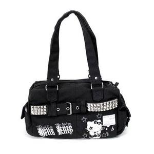 HELLO KITTY(ハローキティ) ハンドバッグ 3241 BK ブラック 日本限定販売